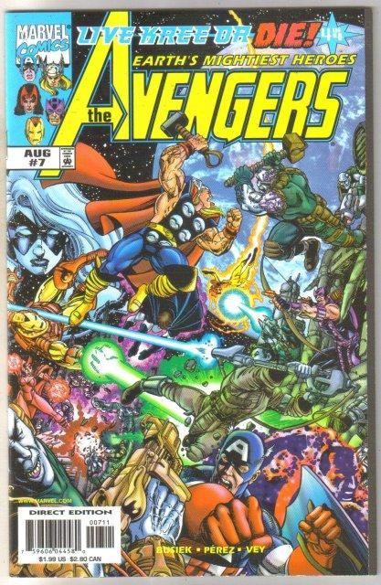 Avengers #7 comic book mint 9.8