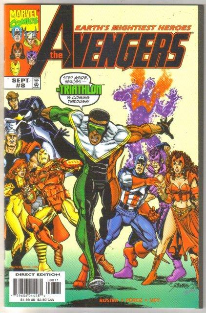 Avengers #8 comic book mint 9.8