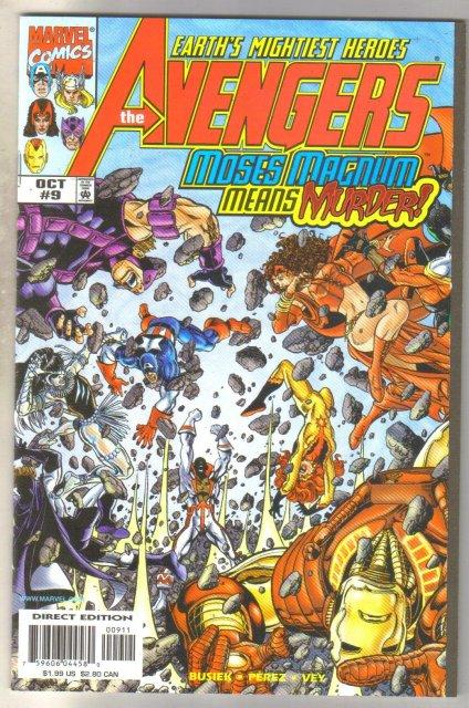 Avengers #9 comic book mint 9.8