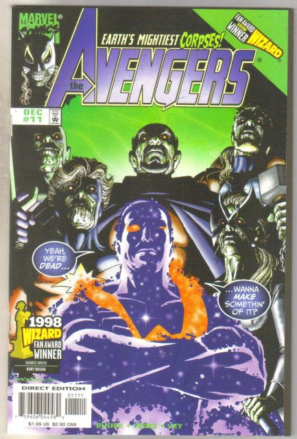 Avengers #11 comic book mint 9.8