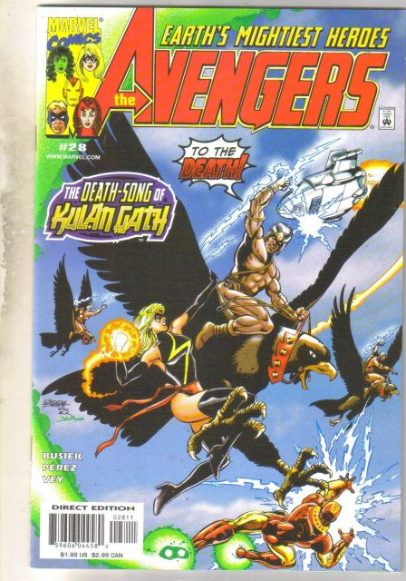 Avengers #28 comic book mint 9.8