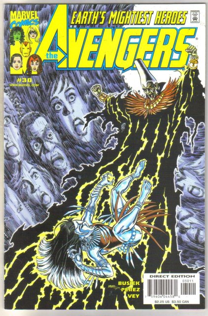 Avengers #30 comic book near mint 9.4
