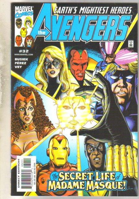 Avengers #32 comic book mint 9.8