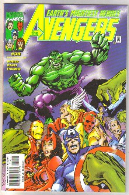 Avengers #39 comic book mint 9.8