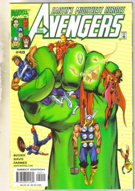 Avengers #40 comic book mint 9.8