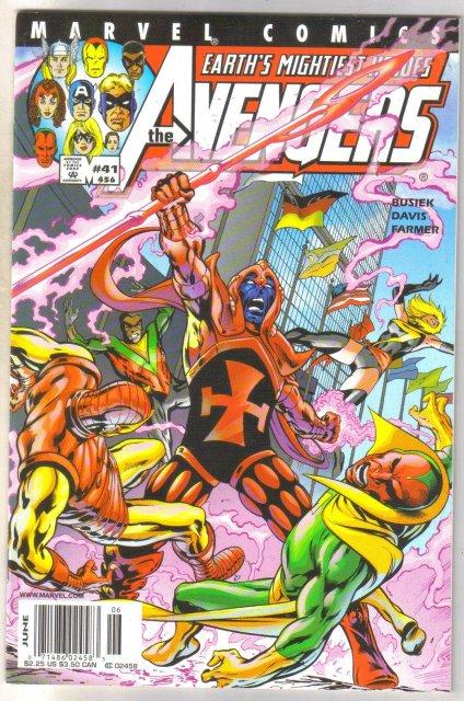 Avengers #456 comic book mint 9.8