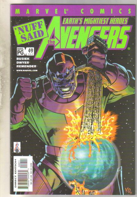 Avengers #464 comic book near mint 9.4