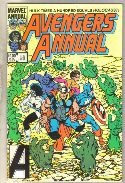 Avengers Annual #13 comic book mint 9.8