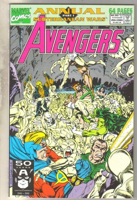 Avengers Annual #20 comic book mint 9.8