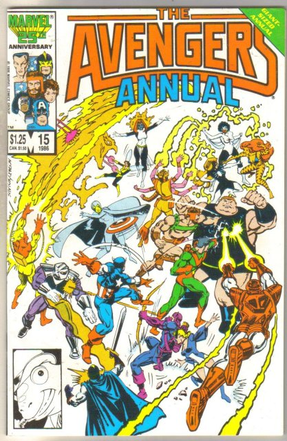 Avengers Annual #15 comic book mint 9.8