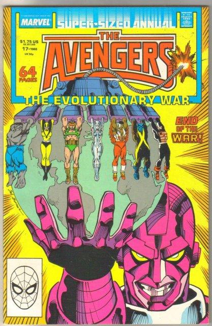 Avengers Annual #17 comic book mint 9.8