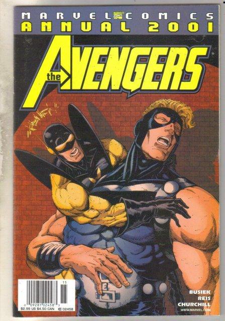 Avengers Annual 2001 comic book mint 9.8