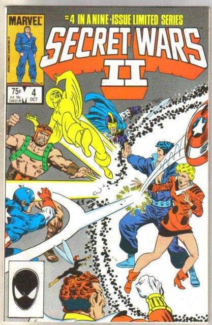 Secret Wars II #4 comic book mint 9.8