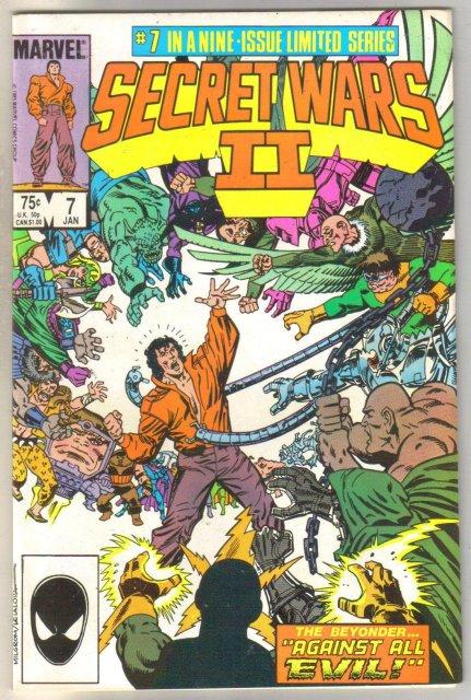 Secret Wars II #7 comic book mint 9.8