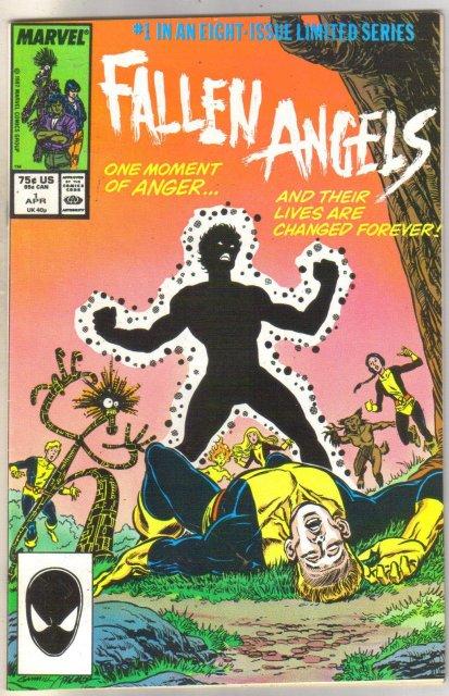 Fallen Angels #1 comic book near mint 9.4