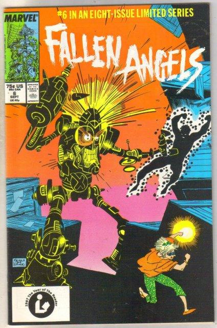 Fallen Angels #6 comic book near mint 9.4