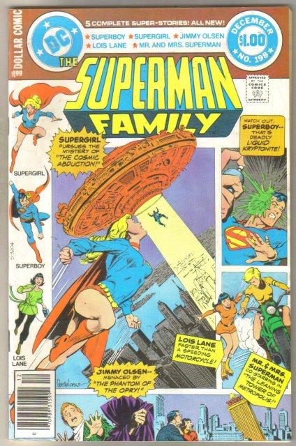 Superman Family #198 comic book very fine 8.0