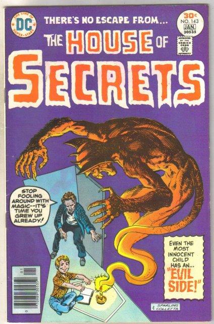 House of Secrets #143 comic book fine 6.0