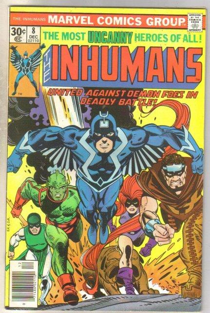 Inhumans #8 comic book fine 6.0