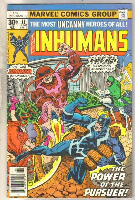 Inhumans #11 comic book fine 6.0