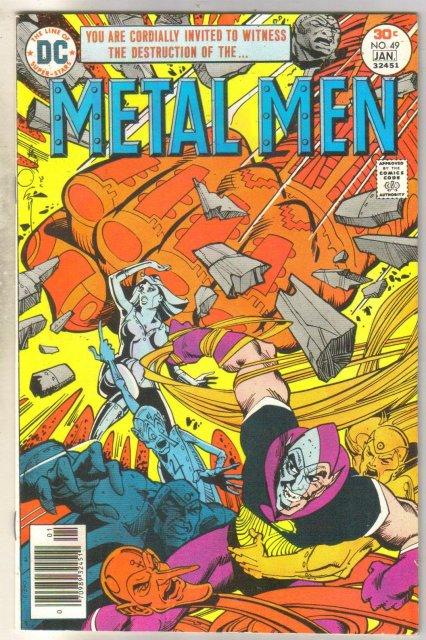 Metal Men #49 comic book very fine 8.0