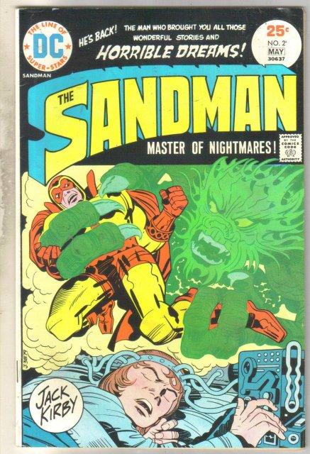 Sandman #2 comic book very fine 8.0