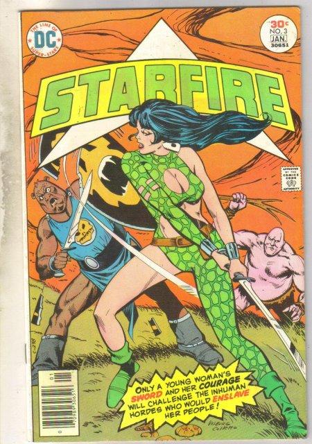 Starfire #3 comic book very fine 8.0
