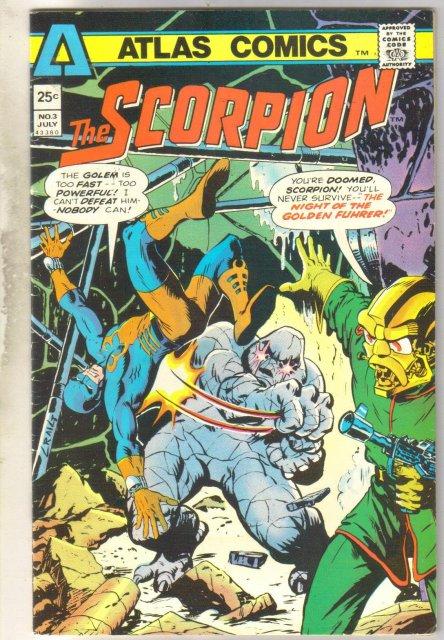 The Scorpion #3 comic book fine 6.0