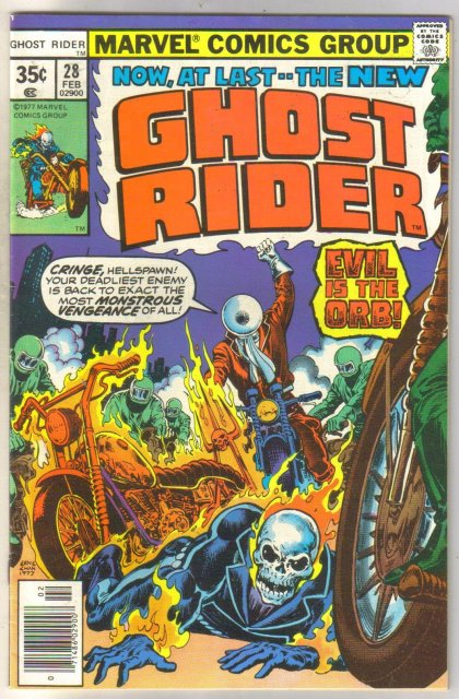 Ghost Rider #28 comic book very fine 8.0