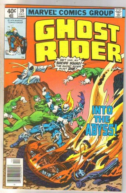 Ghost Rider #39 comic book near mint 9.4