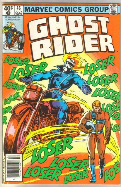 Ghost Rider #46 comic book very fine 8.0