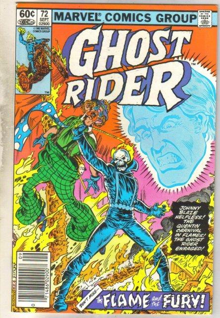 Ghost Rider #72 comic book near mint 9.4