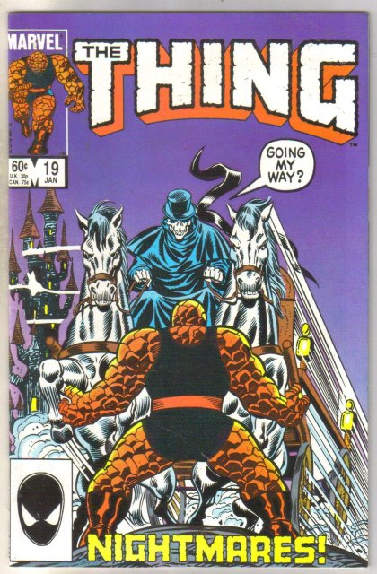 The Thing #15 comic book near mint 9.4