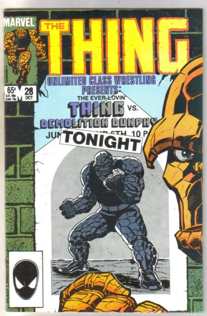 The Thing #28 comic book near mint 9.4