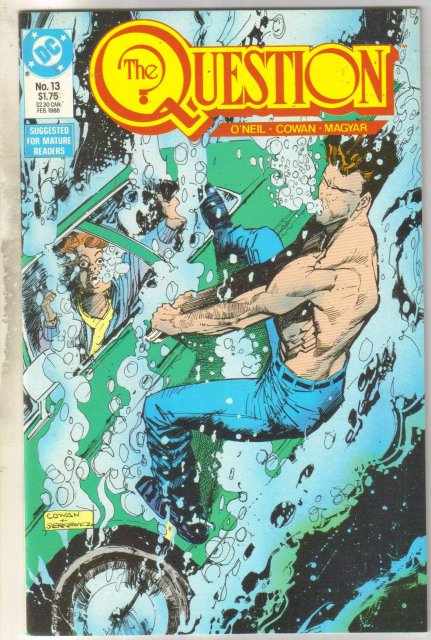 The Question #13 comic book mint 9.8