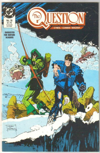 The Question #18 comic book mint 9.8