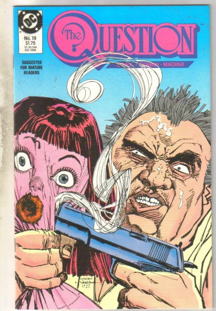 The Question #19 comic book mint 9.8