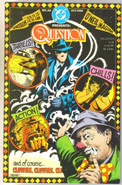The Question #20 comic book mint 9.8
