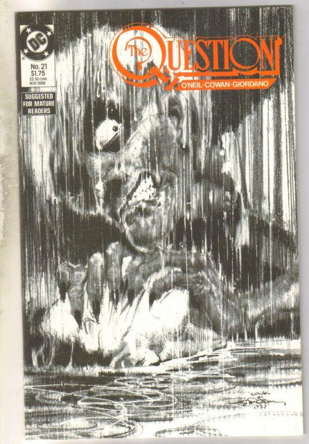 The Question #21 comic book mint 9.8