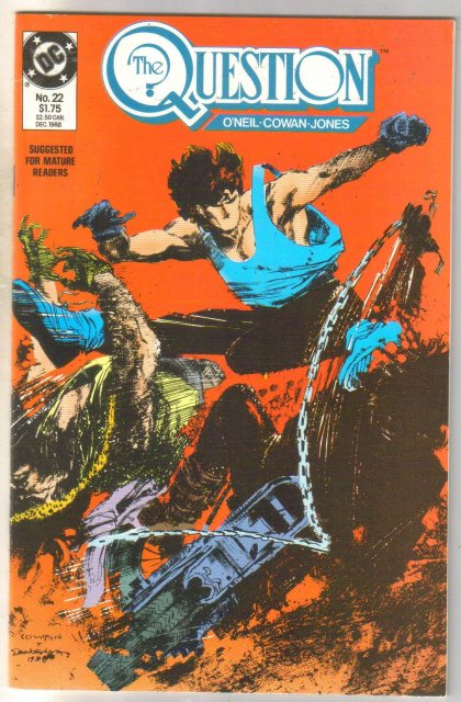 The Question #22 comic book mint 9.8