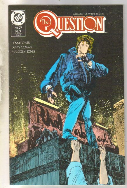 The Question #27 comic book mint 9.8