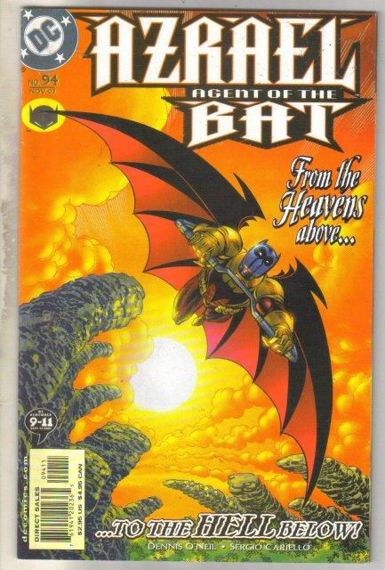 Azrael Agent of the Bat #94 comic book near mint 9.4
