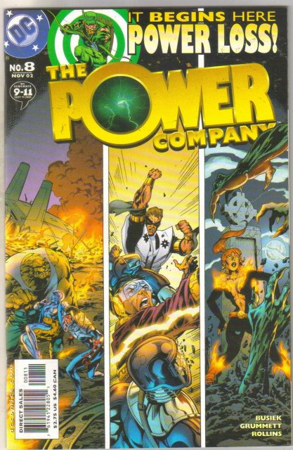 Power Company #8 comic book mint 9.8