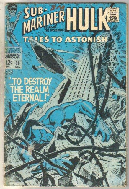 Tales to Astonish #98 comic book good/very good 3.0