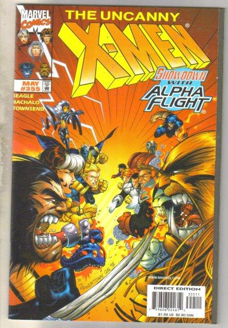 Uncanny X-men #355 comic book mint 9.8