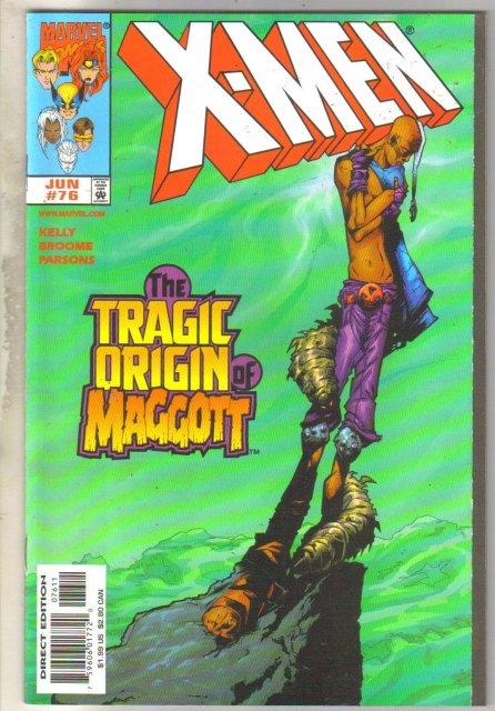 X-men #76 comic book mint 9.8