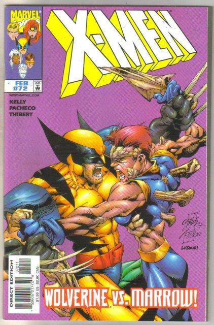 X-men #72 comic book mint 9.8