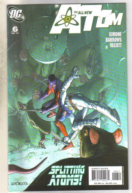 All New Atom #6 comic book near mint 9.4