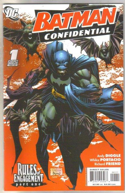 Batman Confidential #1 comic book mint 9.8