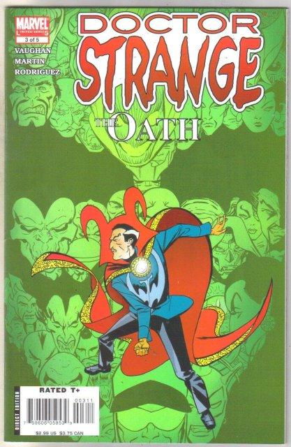 Doctor Strange #3 comic book near mint 9.4